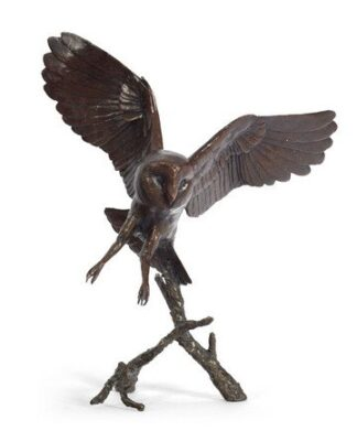 Nocturne signed limited edition bronze sculpture from Richard Cooper Art