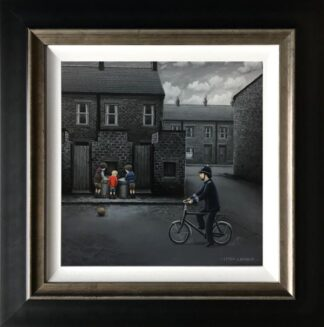 Ello Ello Ello signed limited edition canvas print from Leigh Lambert framed in the artists recommended frame