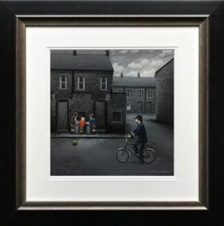 Ello Ello Ello signed limited edition paper print from Leigh Lambert framed in the artists recommended frame