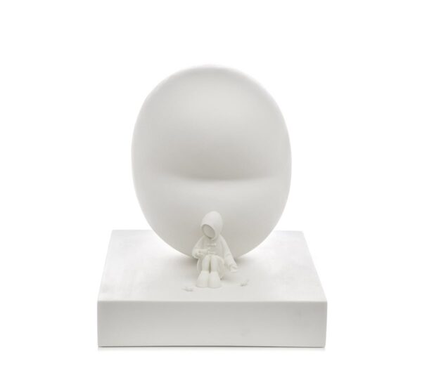 Feed The Birds signed limited edition resin sculpture from Mackenzie Thorpe