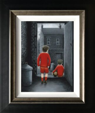 I hope You've Got Your signed limited edition canvas print from Leigh Lambert framed in the artists recommended frame