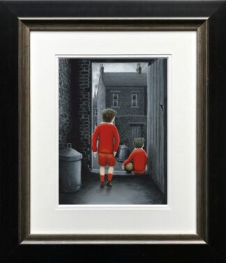 I hope You've Got Your signed limited edition paper print from Leigh Lambert framed in the artists recommended frame