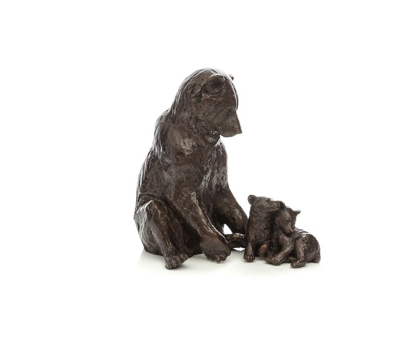 Family Affair Signed Limited edition bronze sculpture from Michael Simpson