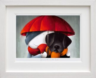 Showered With Love signed limited edition paper print from Doug Hyde - Framed in the artists recommended Frame