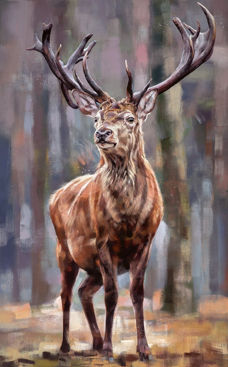 Standing Tall By Debbie Boon Limited Edition Board Gicl 233 E