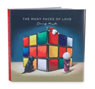 The Many Faces Of Love signed limited edition book from Doug Hyde