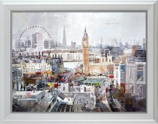 Chime After Chime signed limited Paper print from Tom Butler - framed in the artists recommended frame