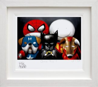 Dream Team Remarque signed limited Paper print from Doug Hyde - Framed in the artists recommended Frame