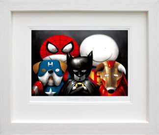 Dream Team signed limited Paper print from Doug Hyde - Framed in the artists recommended Frame