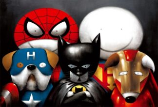 Dream Team signed limited Paper print from Doug Hyde - mounted