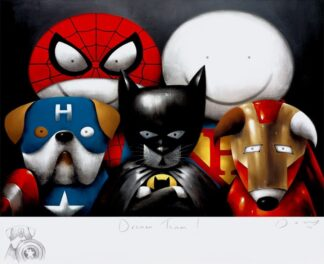 Dream Team Remarque signed limited Paper print from Doug Hyde - unframed