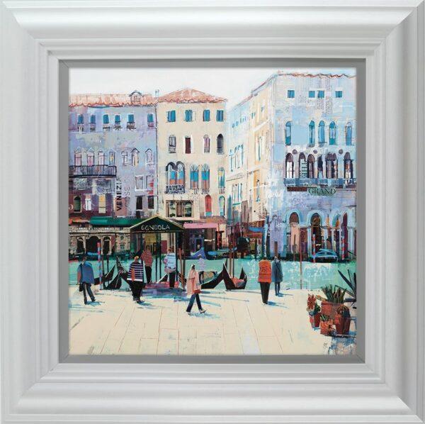 Grand Daze signed limited Paper print from Tom Butler - framed in the artists recommended frame