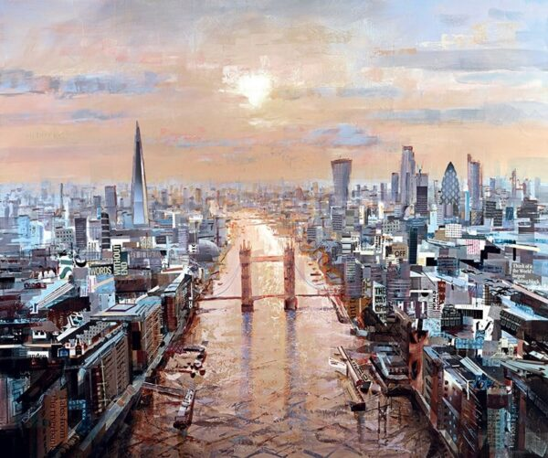 last rays signed limited Paper print from Tom Butler - unframed