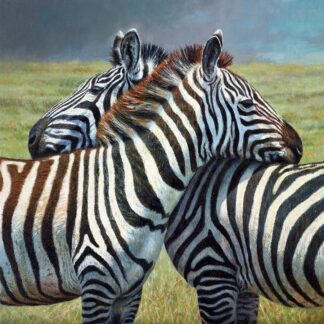 Nearest and dearest Signed Limited canvas print on board by Tony Forrest - unframed