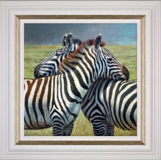 Nearest and dearest Signed Limited canvas print on board by Tony Forrest - Framed in the artists recommended frame
