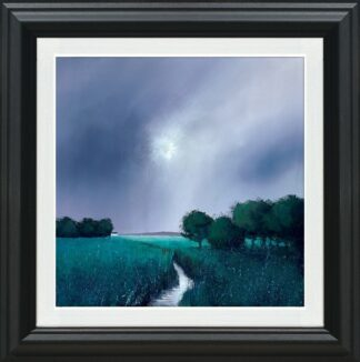 Emerald Skies Signed Limited canvas print on board by Barry Hilton - Framed in the artists recommended frame