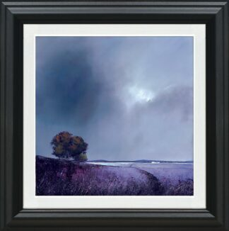 Lavender Skies Signed Limited canvas print on board by Barry Hilton - Framed in the artists recommended frame