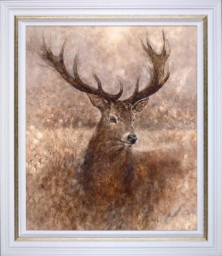 Noble Signed Limited canvas print on board by Gary Benfield - Framed in the artists recommended frame