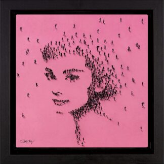 Princess Signed Limited edition boxed canvas print by Craig Alan Framed in the artists recommended frame