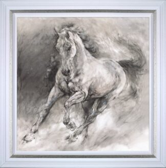Storm Signed Limited canvas print on board by Gary Benfield - Framed in the artists recommended frame