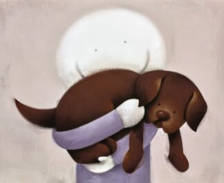Love Hug Signed Limited edition paper print by Doug Hyde unframed