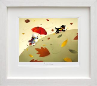 Park Run Signed Limited edition paper print by Doug Hyde framed in the artists recommended frame