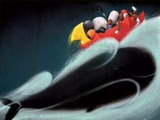 Whale Of A Time Signed Limited edition paper print by Doug Hyde unframed
