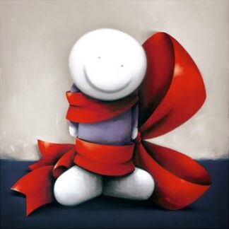 Wrapped in Love Signed Limited edition paper print by Doug Hyde unframed