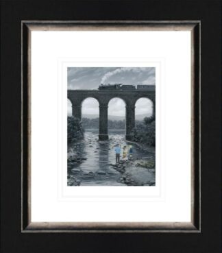 A Great Spot - signed limited edition paper print by Leigh Lambert framed in the artists recommended frame