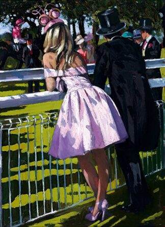 Vision in pink Signed Limited Canvas print by Sherree Valentine Daines unframed