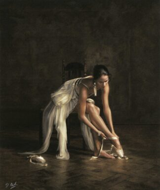 Ballet Pointes - Signed Limited Edition paper print by Darren Baker