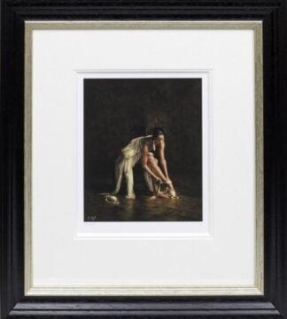 Ballet Pointes Darren Baker Framed