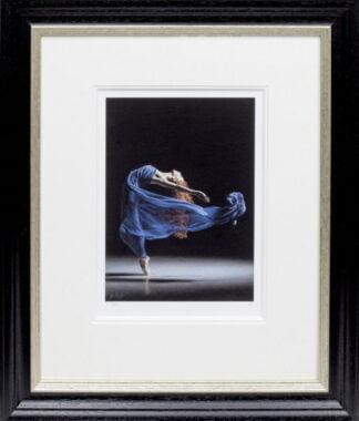 Blue Thunder by Darren Baker framed