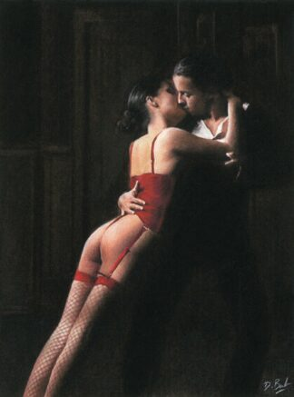 Midnight Tango - Signed Limited Edition paper print by Darren Baker