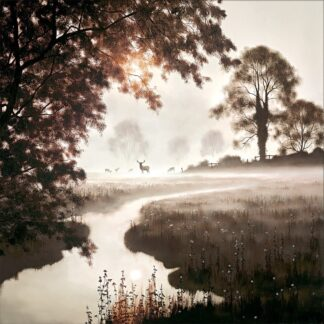 A Moment In time - Signed Limited Edition Paper on board print by John Waterhouse