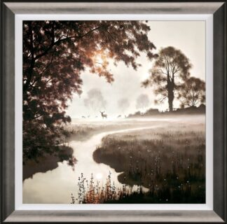 A Moment In time - Signed Limited Edition Paper on board print by John Waterhouse Framed in the Artists Recommended Frame