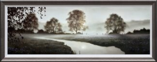 A Place To dream - Signed Limited Edition Paper on board print by John Waterhouse Framed in the Artists Recommended Frame