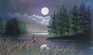 I'll Catch You The Moon - Signed Limited Edition paper print by Mackenzie Thorpe