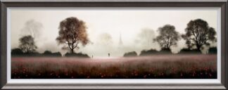 The Life We Share - Signed Limited Edition Paper on board print by John Waterhouse Framed in the Artists Recommended Frame