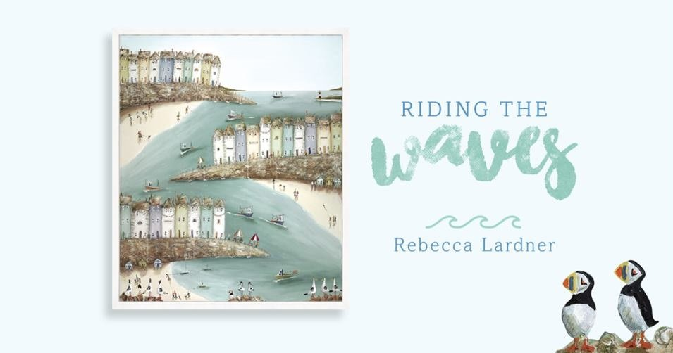Rebecca Lardner | Riding The Waves