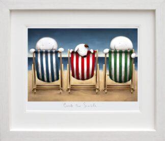 beside the seaside Framed by Doug Hyde