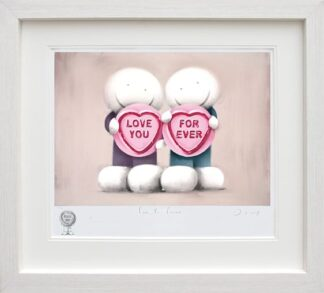 love you forever framed by doug hyde