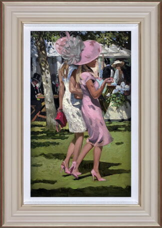 Ascot Chic I Framed by Daines