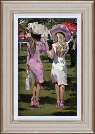 Ascot Chic II Framed by Daines