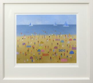 Bird's Boat Framed by Emma Brownjohn
