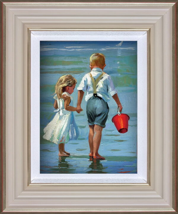 Hold on Tight Framed by Daines