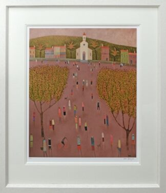 Island Square Framed by Emma Brownjohn