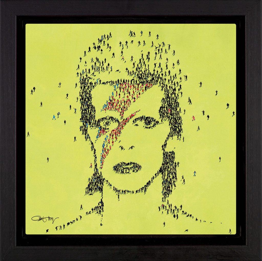 Star Man Framed by Craig Alan