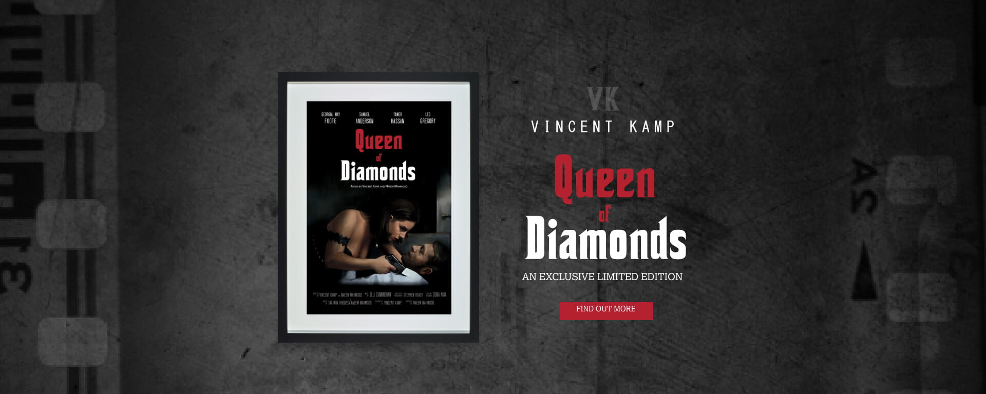Vincent Kamp | Queen of Diamonds