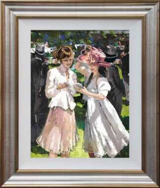 Royal Ascot Ladies Day II Framed by Sherree Valentine Daines
